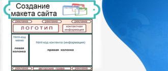 Программа для создания макета сайта