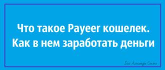 Что такое Payeer кошелек. Как в нем заработать деньги