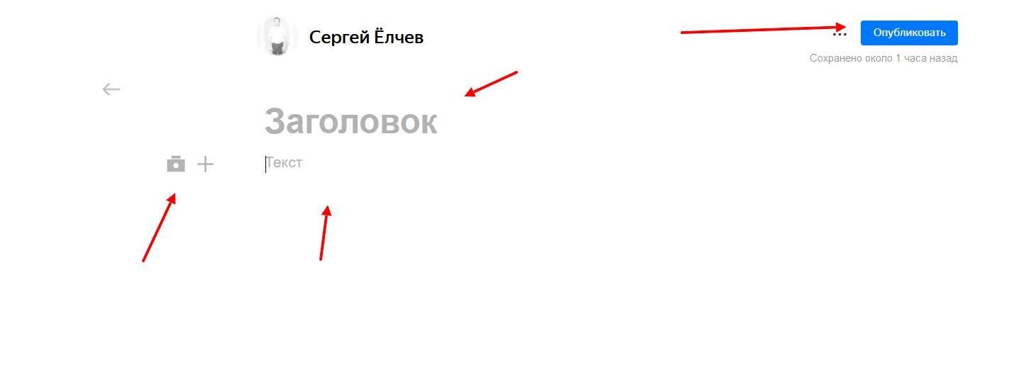 Реклама в Яндекс Дзен 1